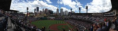 Pnc Park Art Print by Shelley Johnsen