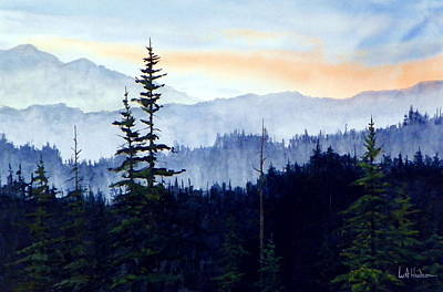 Painting - Pnw Spruce by Bill Hudson