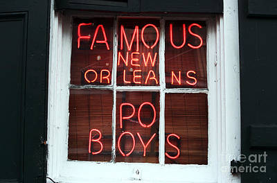 Photograph - Po Boys by John Rizzuto