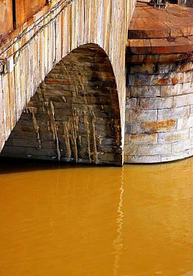 Po River Waters Art Print by Valentino Visentini