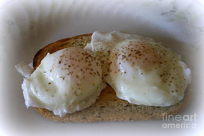 Photograph - Poached Eggs by Kay Novy