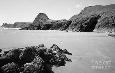 Photograph - Pobbles Beach On The Gower by Paul Cowan