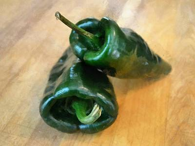 Photograph - Poblanos by Michelle Calkins