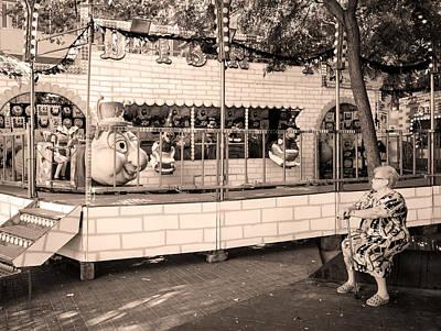 Photograph - Poble Sec, Barcelona by Stefano Buonamici