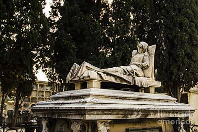 Photograph - Poblenou Cemetery 1 by Deborah Smolinske