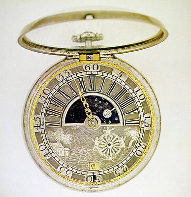 Man In The Moon Photograph - Pocket Watch, C1700 by Granger