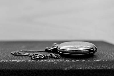 Photograph - Pocket Watch by CJ Rhilinger