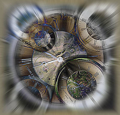 What Is Life Mixed Media - Pocketwatches 2 by Steve Ohlsen