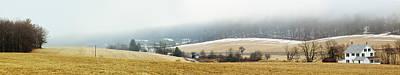 Photograph - Poconos. Winter Rural Landscape by Alex Potemkin