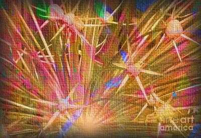Pod Explosion Art Print