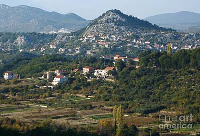 Photograph - Podgrade - Cetina Valley - Croatia by Phil Banks