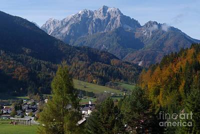 Photograph - Podkoren - Julian Alps by Phil Banks