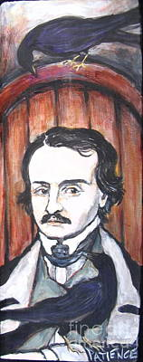 Painting - E Allen Poe by Patience A