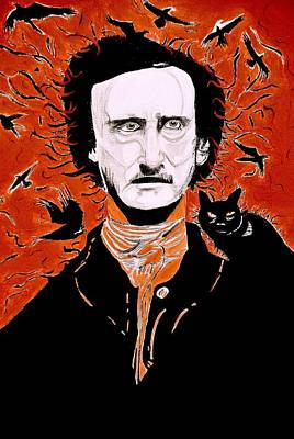 Painting - Poe Poe by Tyler Schmeling