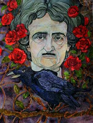 Painting - Poe by Stacey Pilkington-Smith