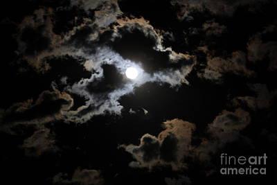 Photograph - Poe's Moon I by Amanda Holmes Tzafrir