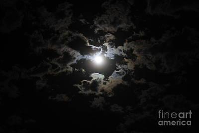 Photograph - Poe's Moon II by Amanda Holmes Tzafrir