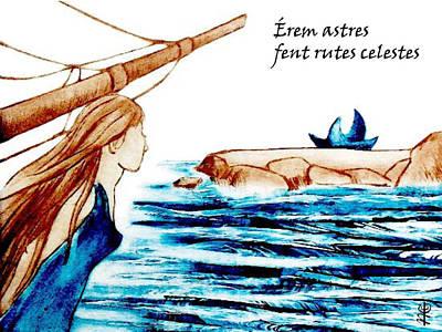 E-books Painting - Poesia Amorosa En Catala - Diada De Sant Jordi by Arte Venezia