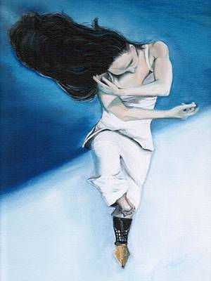 Dancer Painting - Poetic Unfold by Natalie Trujillo