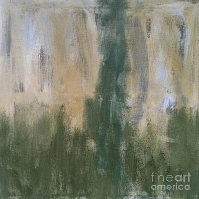 Poetry In Green Art Print by Bebe Brookman