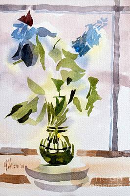Poetry In The Window Art Print by Kip DeVore