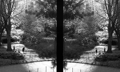 Litterature Photograph - Poets At Central Park - Lovesongs Of New York by Feanare