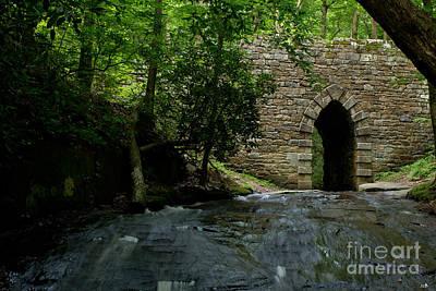 Photograph - Poinsett Bridge 1820 by Sandra Clark