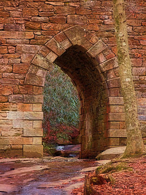 Photograph - Poinsett Bridge Arch by Bellesouth Studio