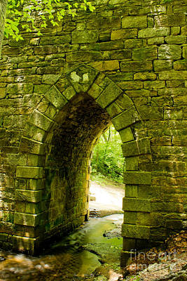 Photograph - Poinsett Bridge Archway by Sandra Clark