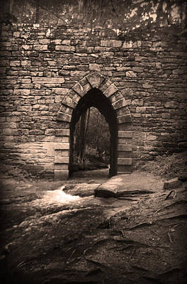Photograph - Poinsett Bridge Gothic Arch by Kelly Hazel