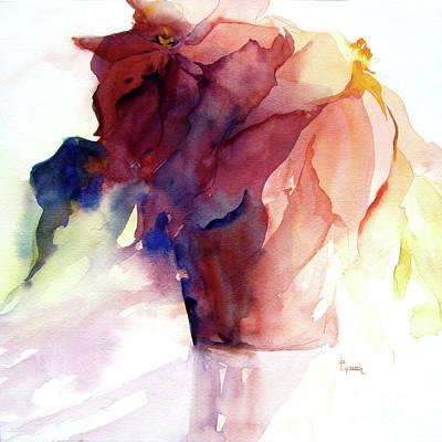 Painting - Poinsettia by Jo Lynch