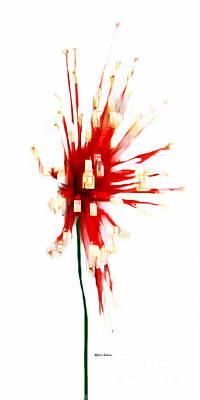Digital Art - Poinsettia by Rafael Salazar
