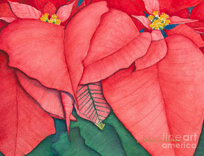 Painting - Poinsettia by Sandra Neumann Wilderman