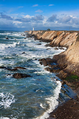 Photograph - Point Arena Lighthouse2 by Kathleen Bishop