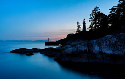 British Columbia Photograph - Point Atkinson Lighthouse by Alexis Birkill