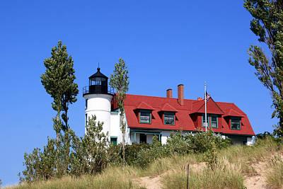 Photograph - Point Betsie Lighthouse by George Jones