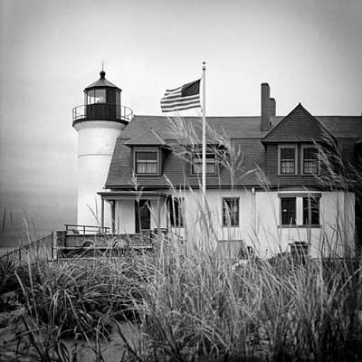 Photograph - Point Betsie Lighthouse II by Jeff Burton