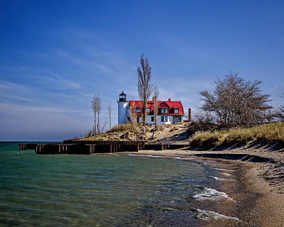 Photograph - Point Betsie Lighthouse Mi   by Jack R Perry