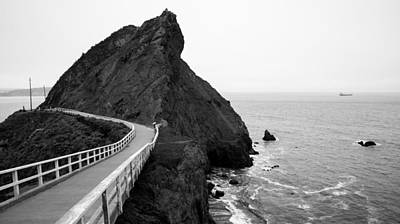 Bonita Point Photograph - Point Bonita Cove by Clay Townsend
