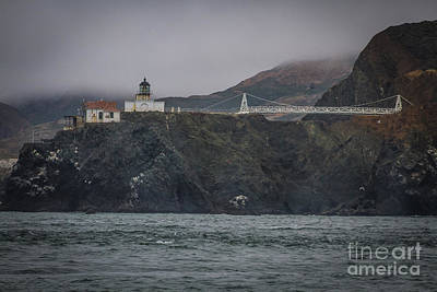 Sausalito Photograph - Point Bonita Light House by Mitch Shindelbower