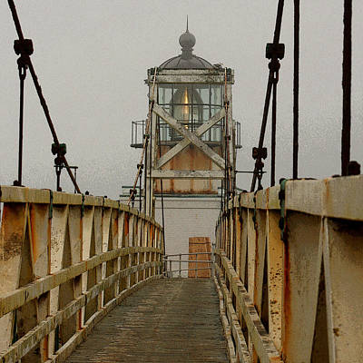 Point Bonita Lighthouse Art Print by Art Block Collections