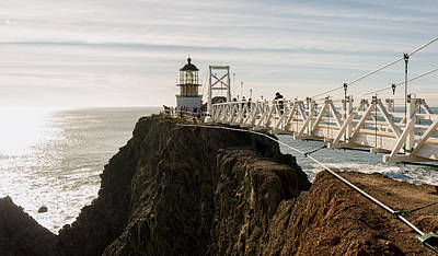 Point Bonita Lighthouse Art Print by Georgia Fowler