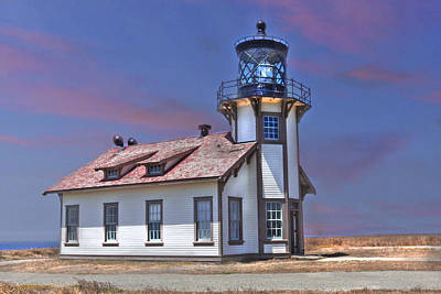 Point Cabrillo  Art Print by Kandy Hurley