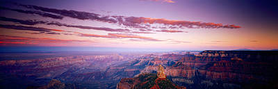 Point Imperial At Sunset, Grand Canyon Art Print by Panoramic Images