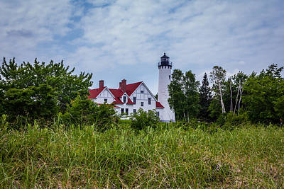 Point Iroquois Lighthouse Art Print