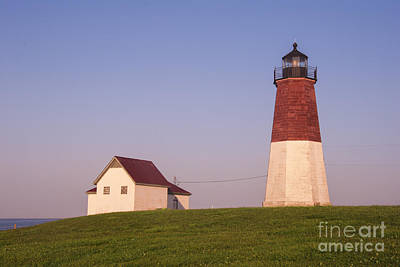 Narragansett Photograph - Point Judith Lighthouse by Juli Scalzi