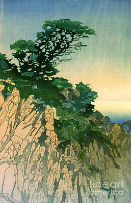 Point Lobos California 1920 Art Print