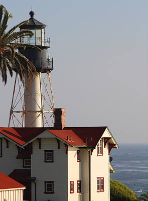 Point Loma California Lighthouse Art Print by Mark Steven Burhart