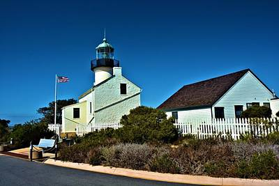 Point Loma Light House Art Print by Richard Jenkins