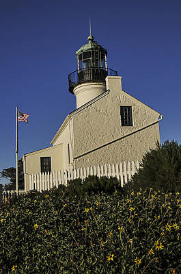 Photograph - Point Loma Lighthouse by Lee Kirchhevel
